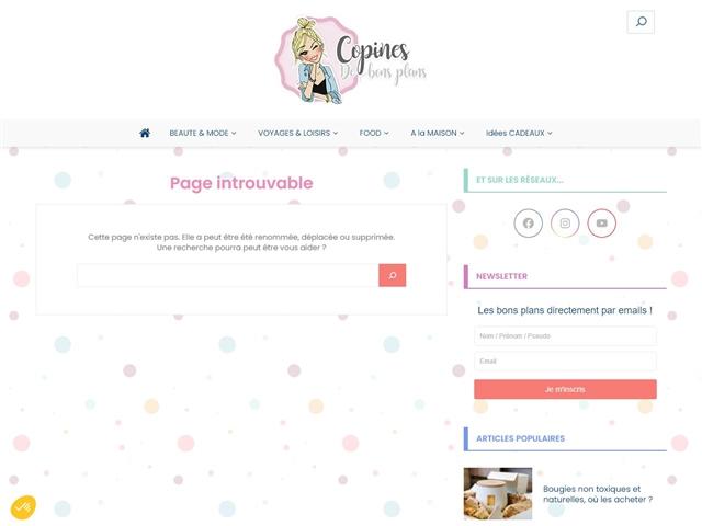 Copines de Bons Plans : Courses Food