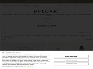 Bulgari : Montres