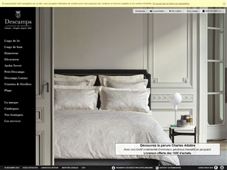 marques de linge de maison. Black Bedroom Furniture Sets. Home Design Ideas