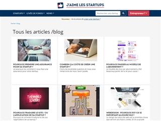 Blog de J'aime les startups