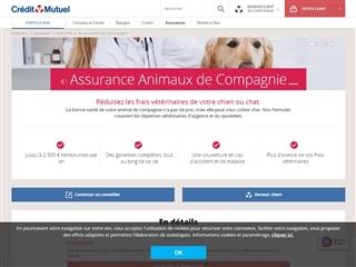 Crédit Mutuel : assurance animaux de compagnie