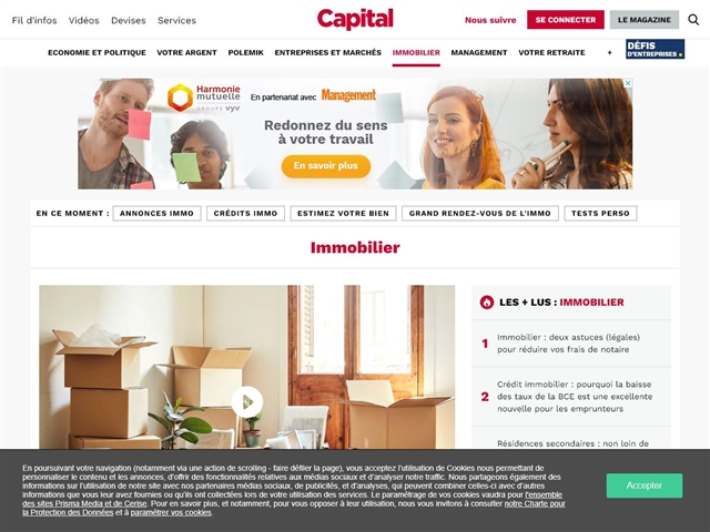 Capital : Immobilier