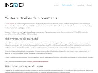 Inside 360 : Visites Virtuelles de Lieux