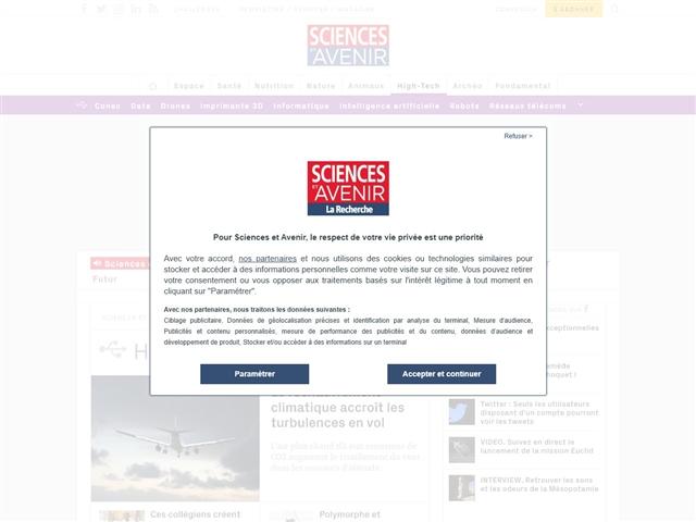 Sciences et Avenir : High-tech