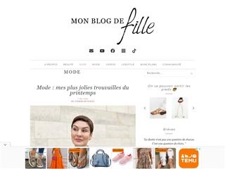 Mon Blog de Fille : Mode