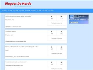 Blagues de merde.fr