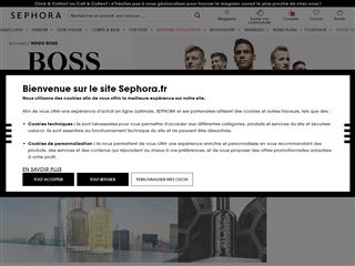 Sephora : Hugo Boss