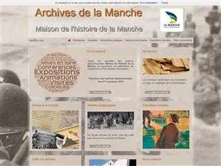 Manche (50) - Archives départementales