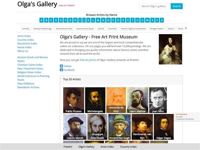 Olga's Gallery