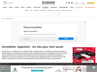 Dossier Familial : Immobilier