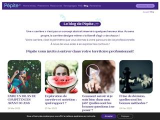 Pépite SC : blog