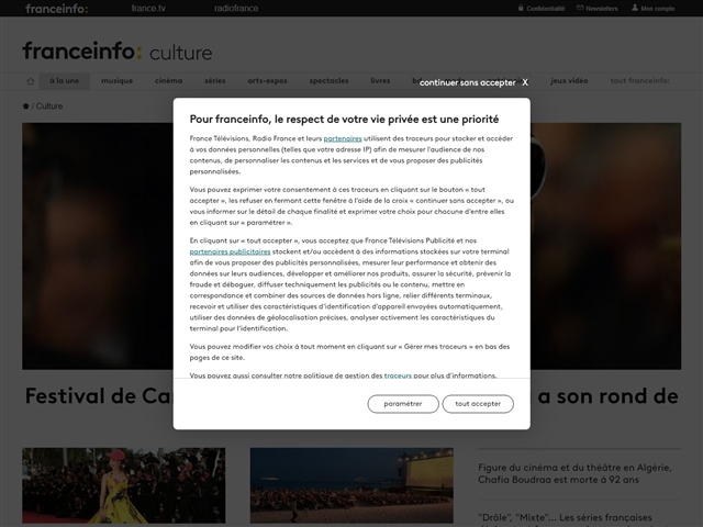 France TV Info : Culture