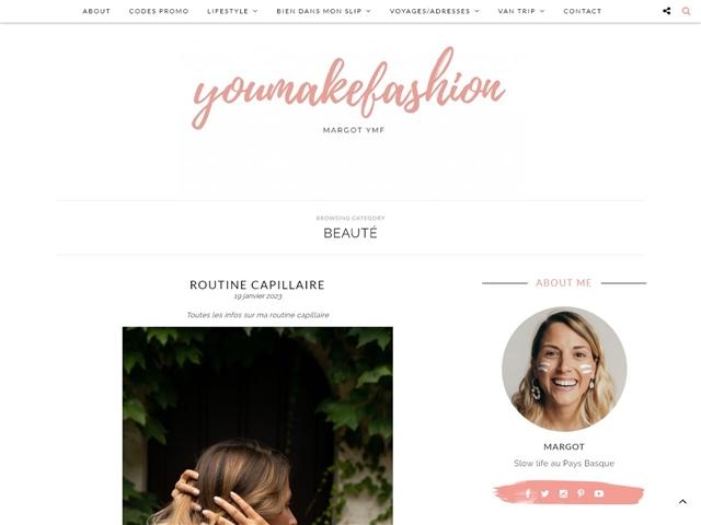 You Make Fashion : Beauté