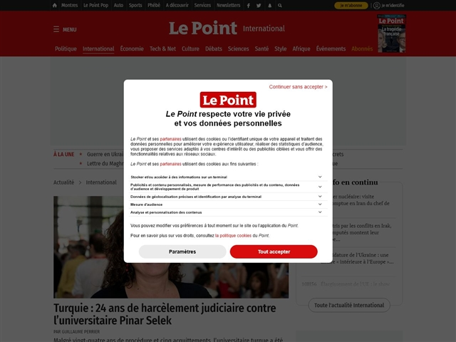 Le Point : Monde
