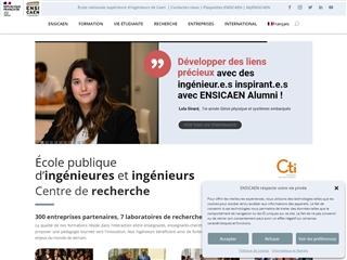 École nationale supérieure d'ingénieurs de Caen (ENSICAEN)