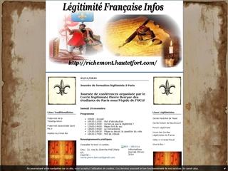 Légitimité française infos
