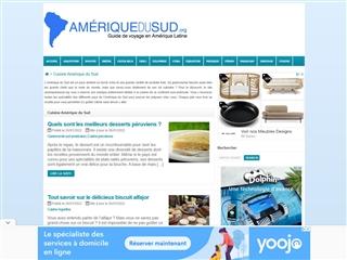 AMERIQUEDUSUD.org : cuisine