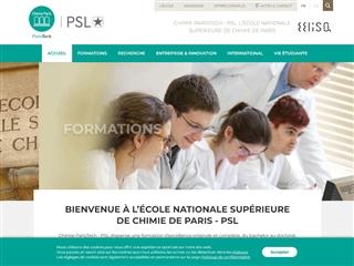 École nationale supérieure de chimie de Paris (ENSCP)