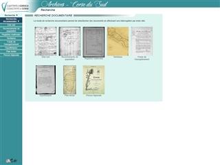 Corse-du-Sud (2B) : Archives départementales