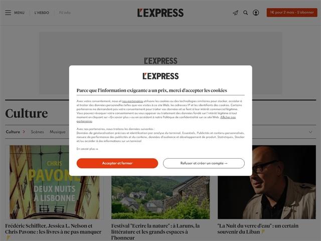 L'Express : Culture
