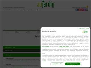 Au Jardin : Forum