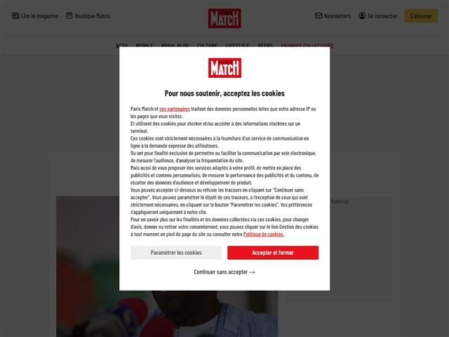 Paris Match : Actu Match Afrique