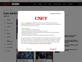 Cnet France : actualité