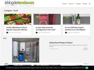 Le Blog des Tendances : Food