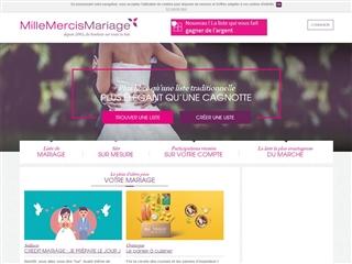 crer un blog ou une liste de mariage en ligne - Millemercismariage Liste Mariage
