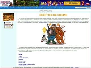 Russie virtuelle : cuisine