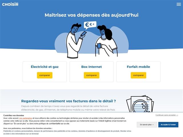 CHOISIR : Banque