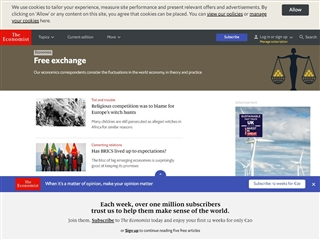 Free exchange (The Economist)