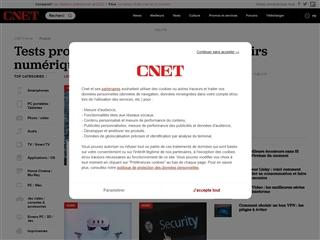 Cnet France :  produits