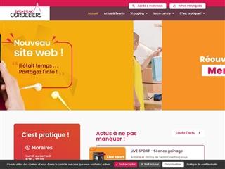 Centre commercial Poitiers Cordeliers