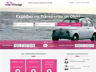 Colis - Voiturage.com