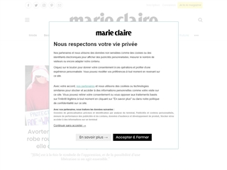 Marie Claire : TV