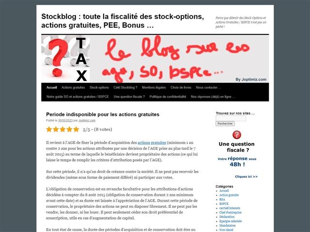 Vive Stock-Options, Actions gratuites