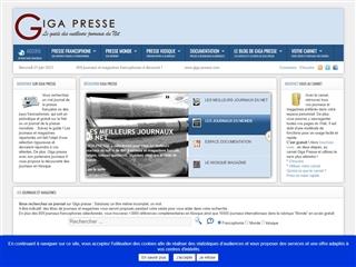 GIGA - PRESSE