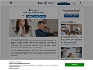 Alexia : Divorce