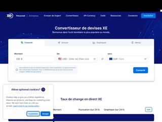 XE.com - Le Convertisseur Universel de Devises