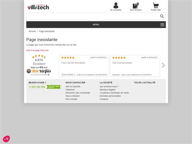 Villatech : TV