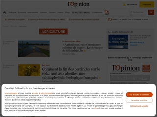 L'Opinion : Agriculture