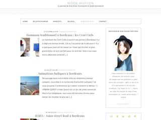 Mode Motion : Bordeaux & Co