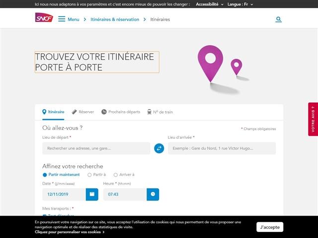 SNCF : Infolignes