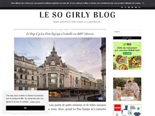 Le So Girly Blog : Bonnes Adresses Paris