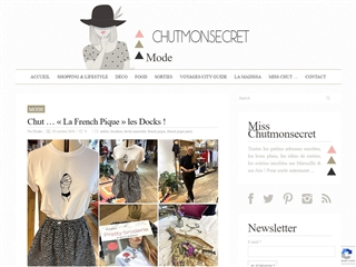 Chut mon Secret : Mode