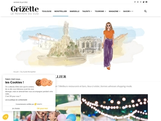 Magazine Grizette : City-guide Montpellier