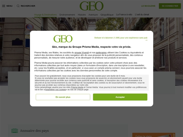 GEO : Les guides de voyages en Europe