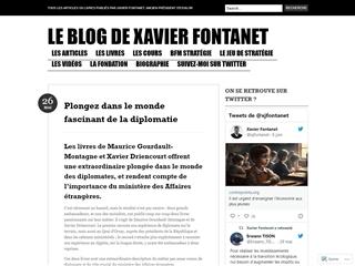 Blog de Xavier Fontanet