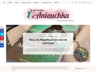 Le Coin Lecture d'Aniouchka